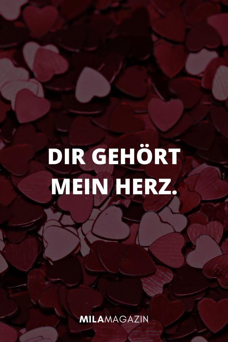 Dir gehört mein Herz. | MILAMAGAZIN