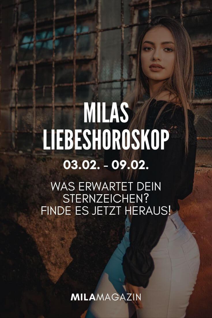 MILAs Liebeshoroskop 03.02. - 09.02. - Was erwartet dein Sternzeichen? | MILAMAGAZIN