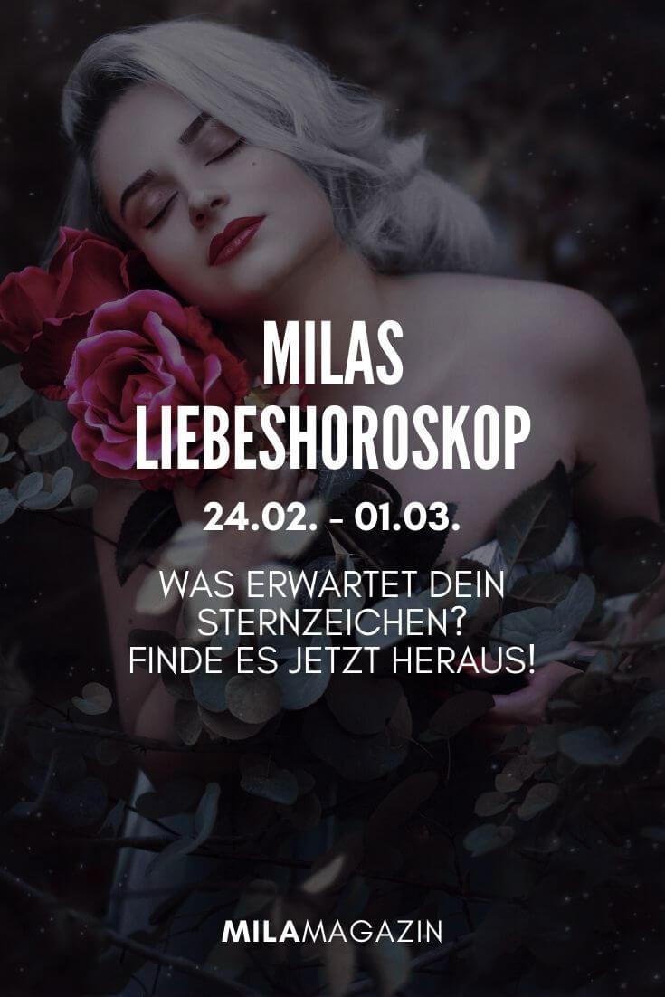 MILAs Liebeshoroskop 24.02. - 01.03. - Was erwartet dein Sternzeichen? | MILAMAGAZIN