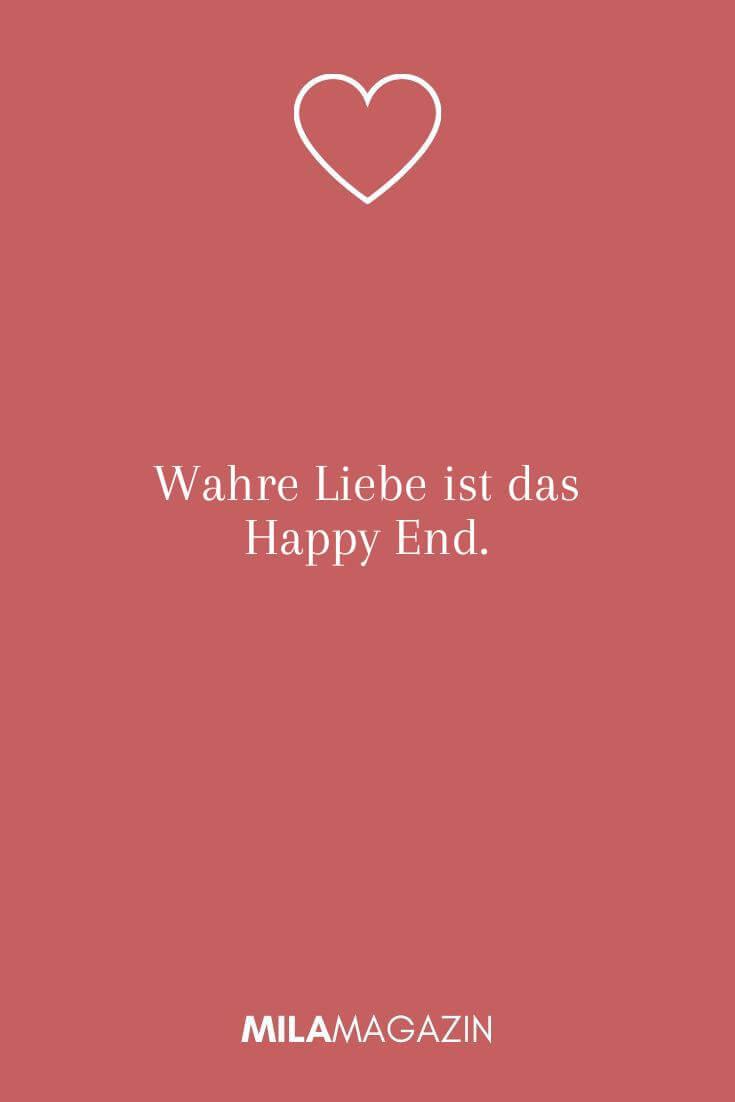 Wahre Liebe ist das Happy End.