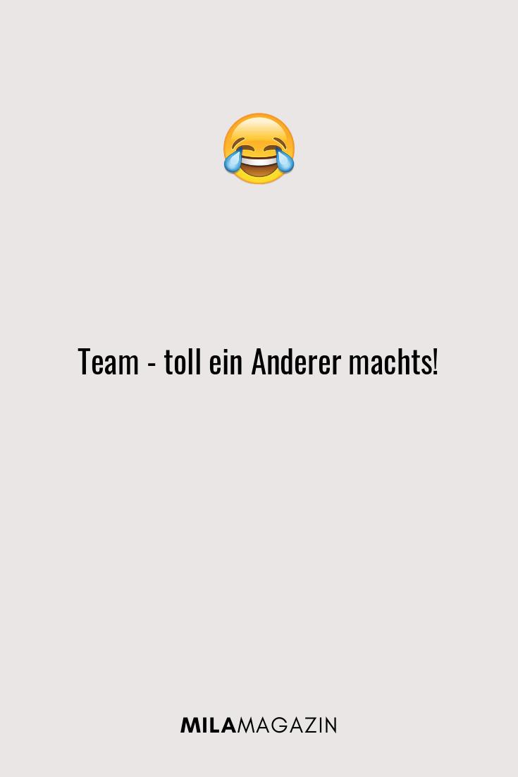 Team - toll ein Anderer machts!