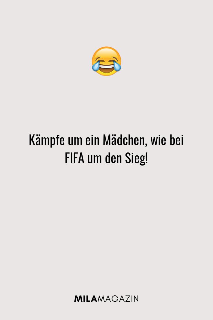 Kämpfe um ein Mädchen, wie bei FIFA um den Sieg!