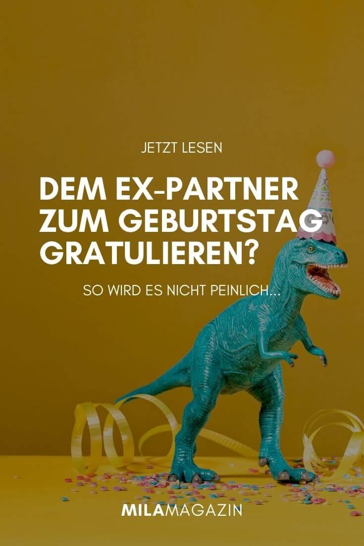 Dem Ex-Partner zum Geburtstag gratulieren?