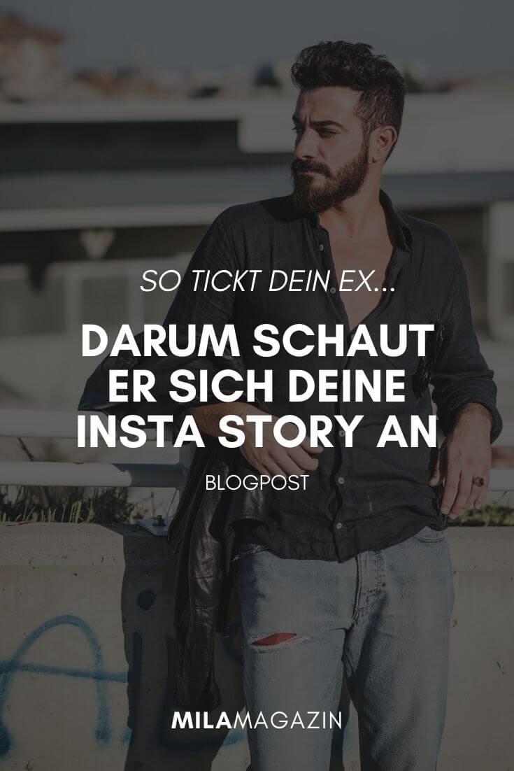 Ex Freund schaut sich deine Instagram Story- Was bedeutet das?