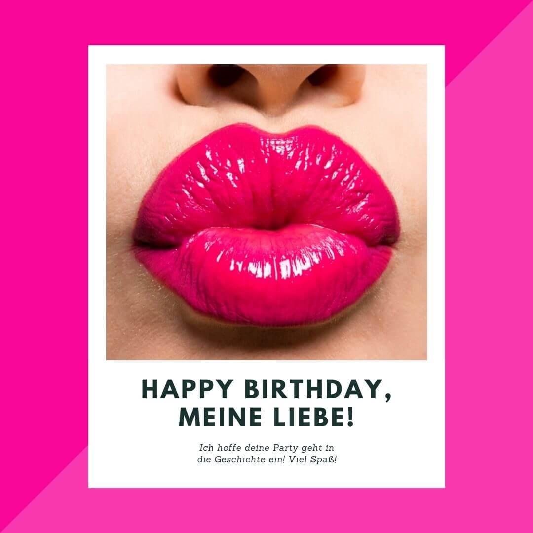 """""""Ich hoffe, deine Party geht in die Geschichte ein. Viel Spaß"""" – Geburtstagskarte für sie"""