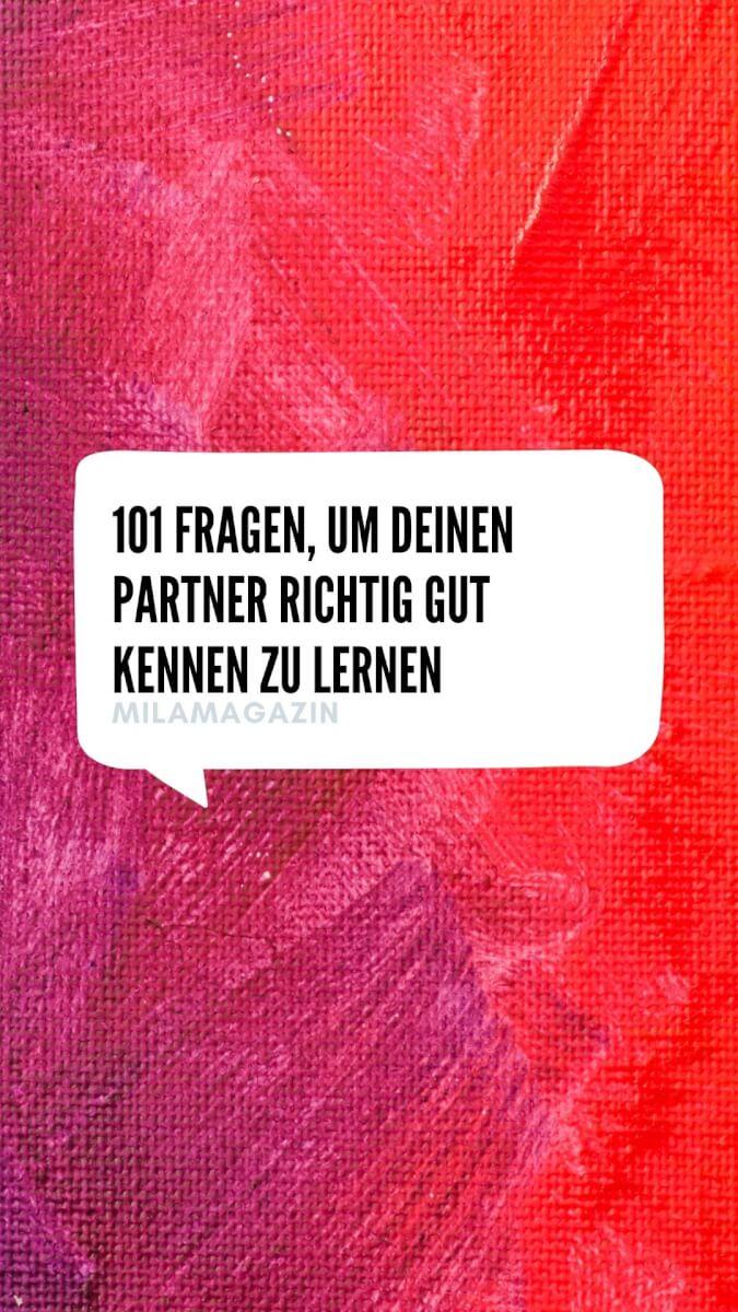 101 Fragen, um deinen Partner richtig gut kennenzulernen