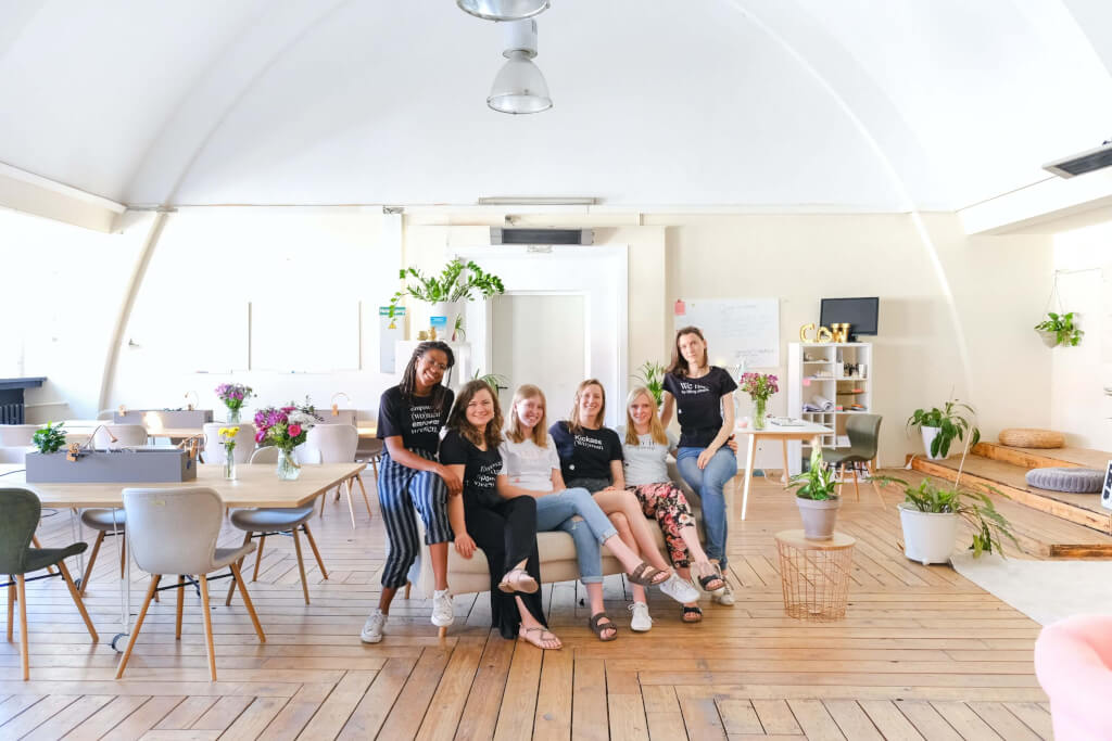 Coworking Space Photo by CoWomen on Unsplash