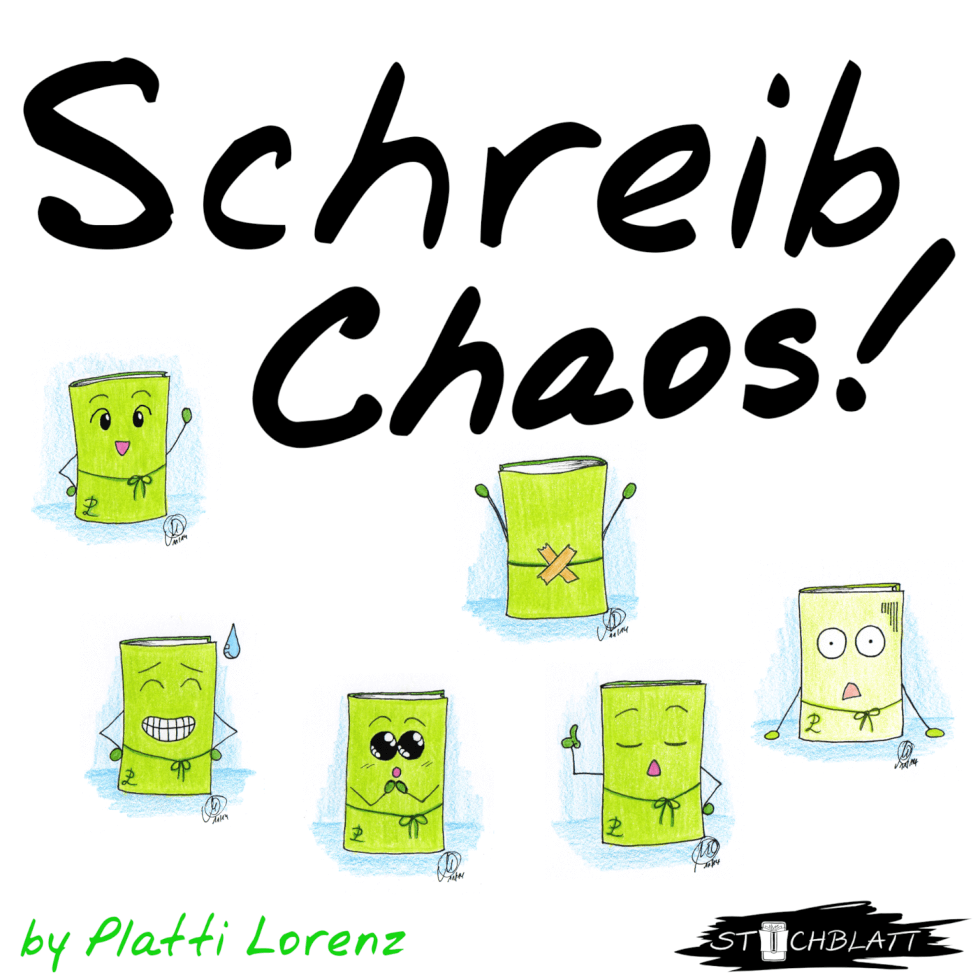 Schreib Chaos Podcast   teaser Kachel 1900x1900