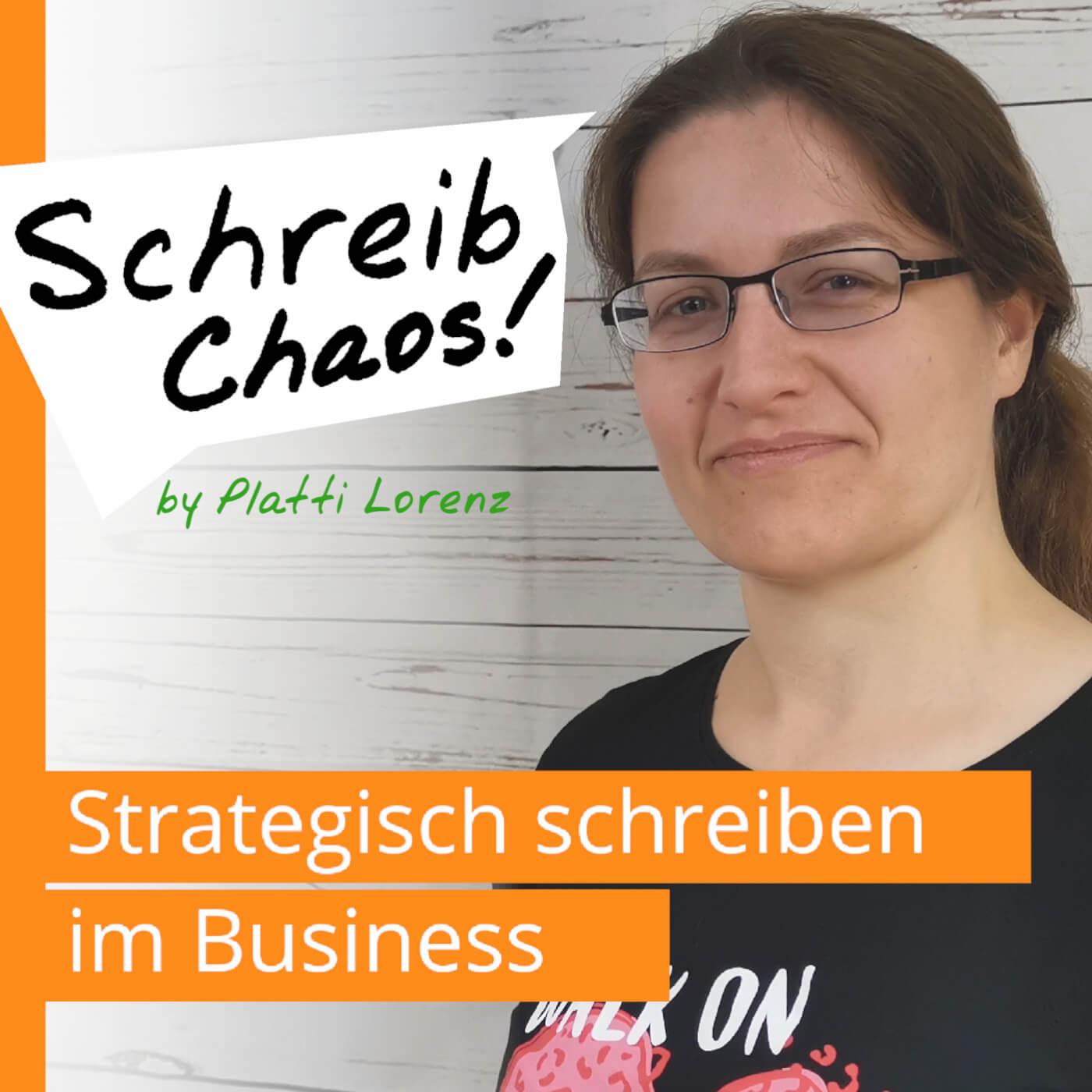 Schreib Chaos Podcast   strategisch schreiben im business   Logo 2020 1402x1402
