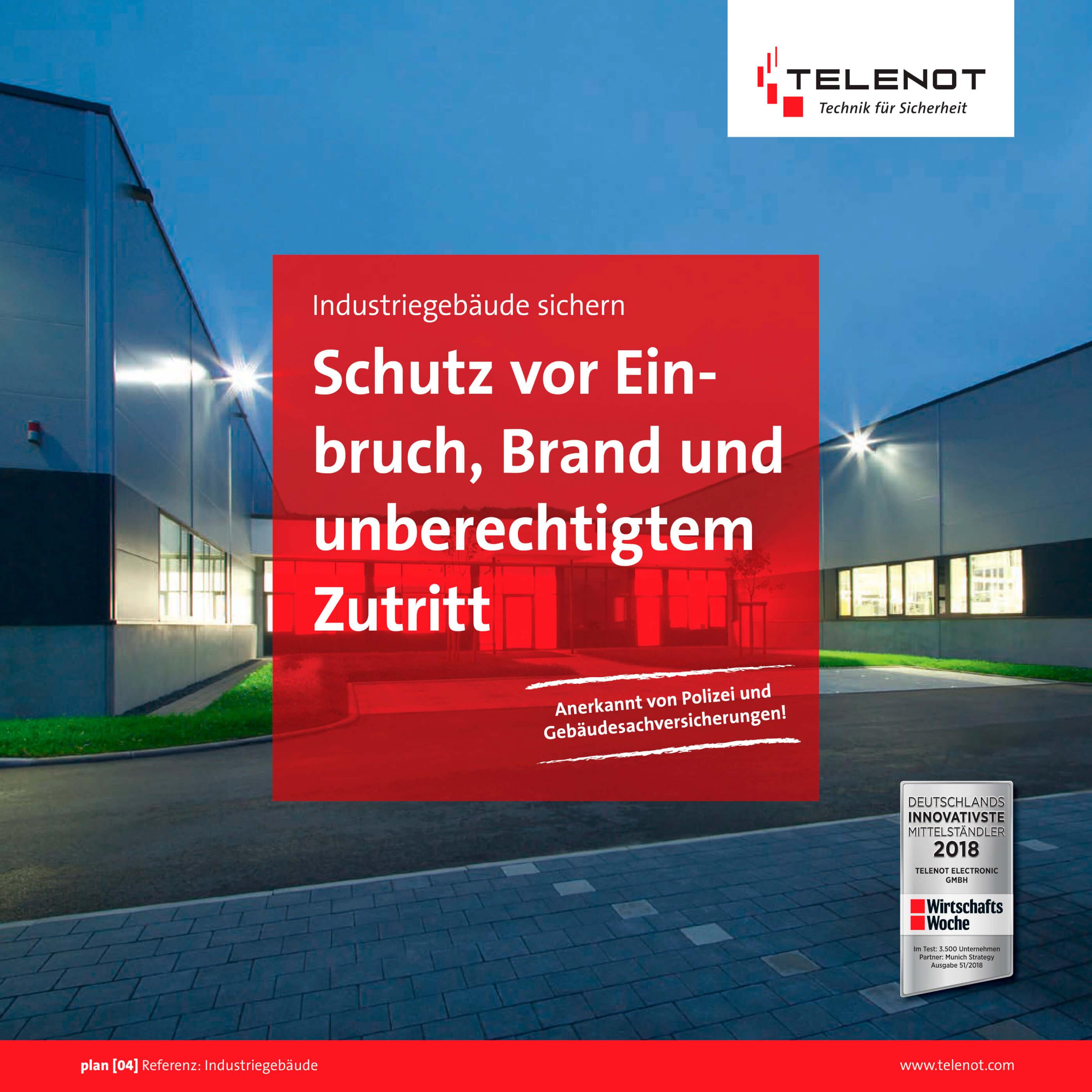 Telenot - Industrie