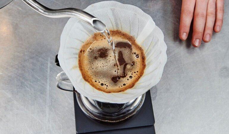 Filterkaffee zubereiten nicht kochen