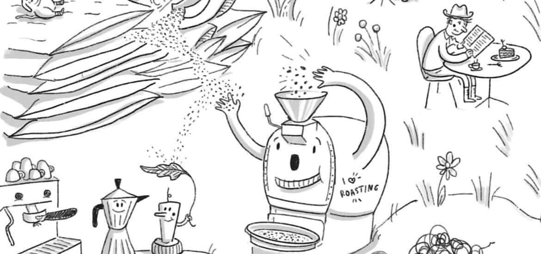 Neuer Kaffeemacher Beutel