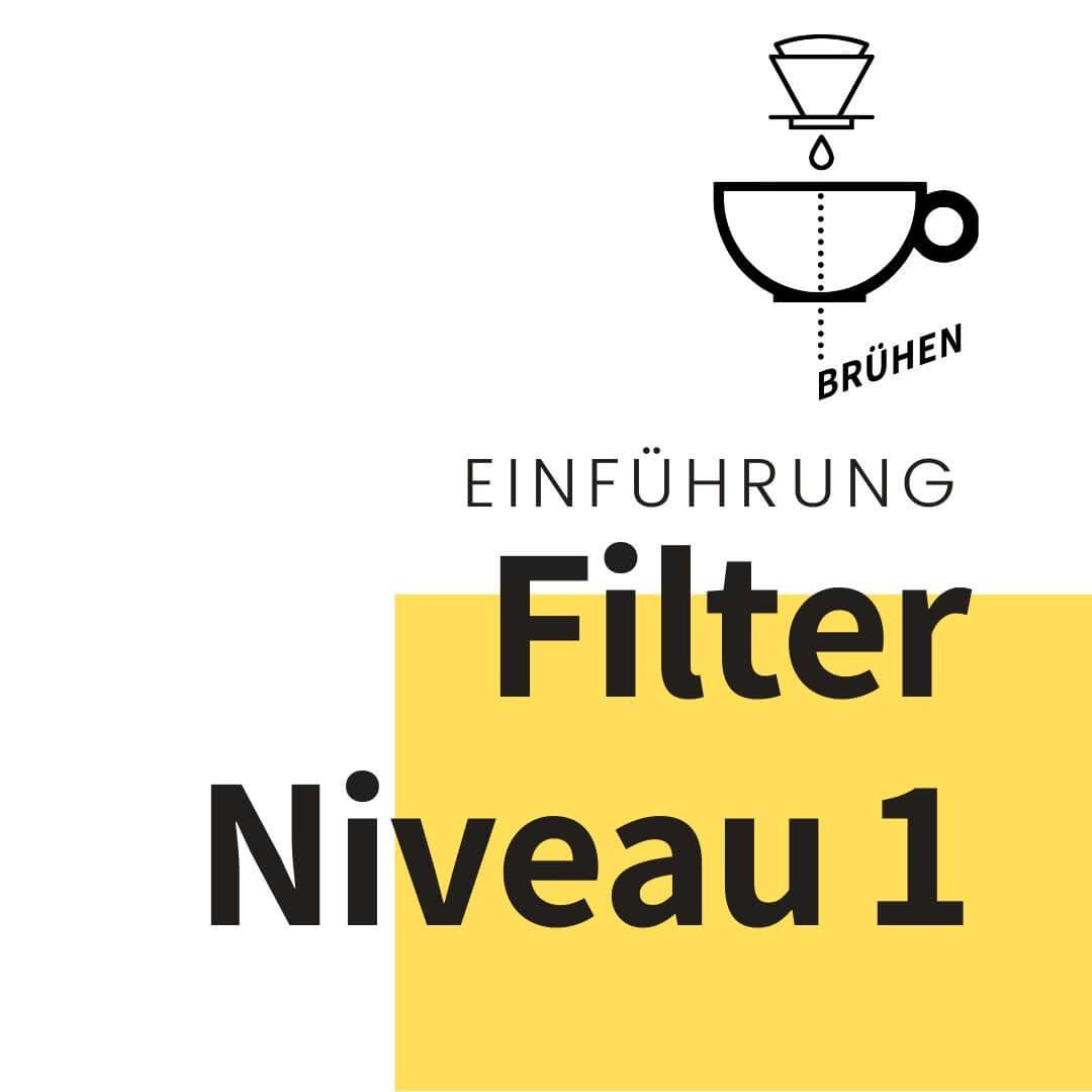 Filterkaffee Einführung