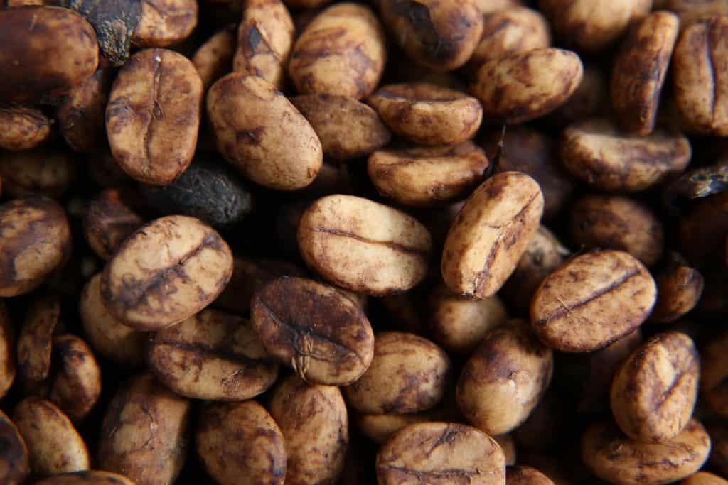 Kaffee mit Mucilage