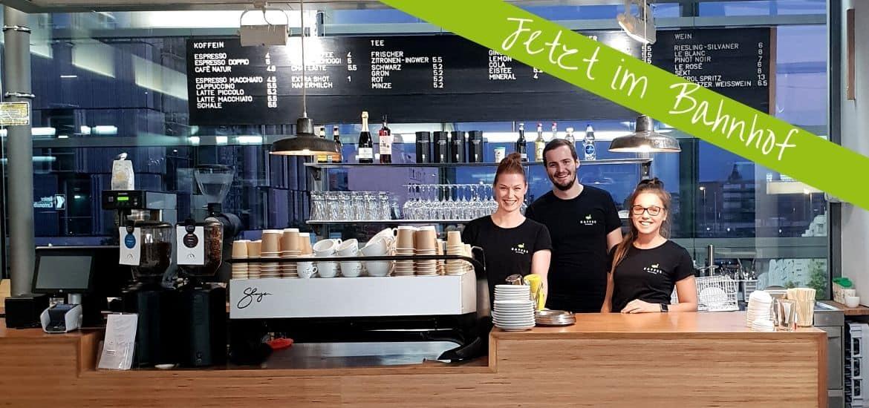 Kaffeemacher Café Basel Bahnhof