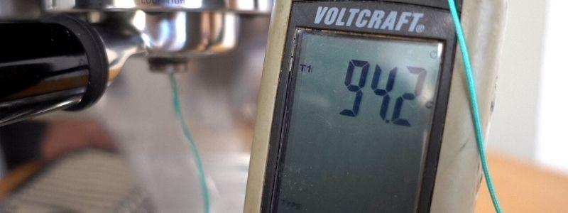 Espresso-Temperatur