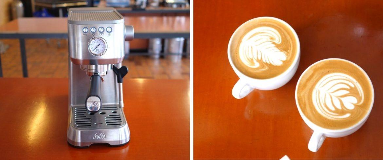 Solis Primaaroma Espressomaschine Siebträger Kaffeemaschine Espresso Kaffee