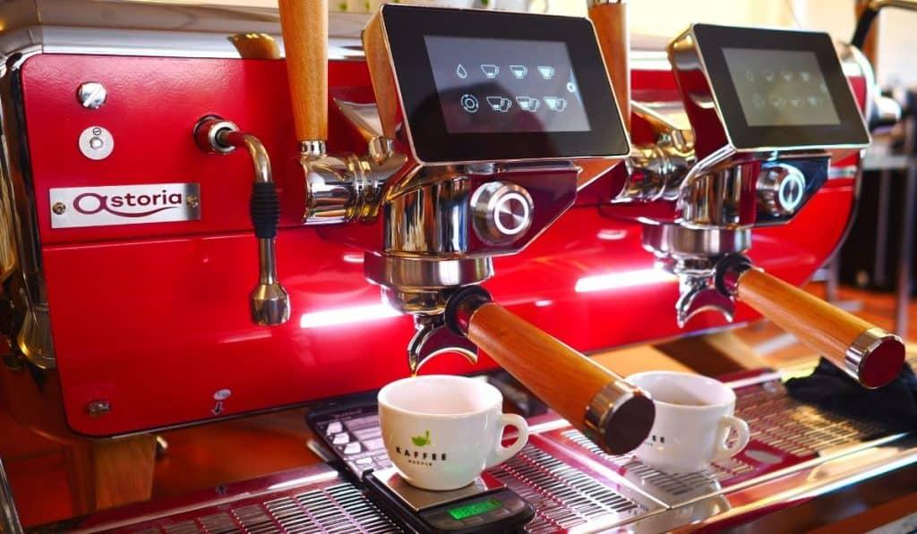 Temperatur Espresso