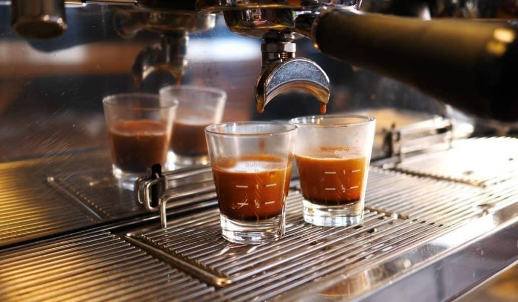 Espresso mit viel Crema