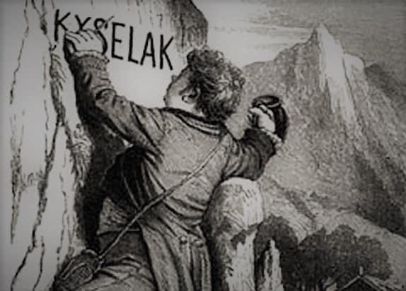 Joseph Kyselak: als ein Taugenichts aus dem Biedermeier die Graffiti erfand