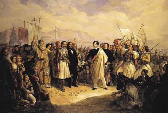 Auswüchse des Hurra-Patriotismus. Erster Akt: Philhellenismus und die Griechische Revolution