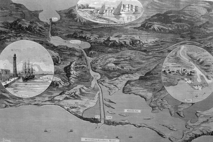 Die Suezkrise. Irgendwie läuft das mit dem Imperialismus nicht mehr so recht…