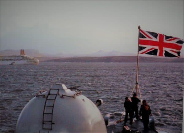 Ein bisschen billiger Patriotismus kann schon praktisch sein. Maggie Thatcher und der Falklandkrieg