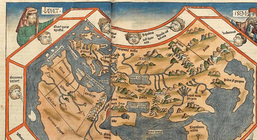Was man im Mittelalter über die Erdkugel wusste