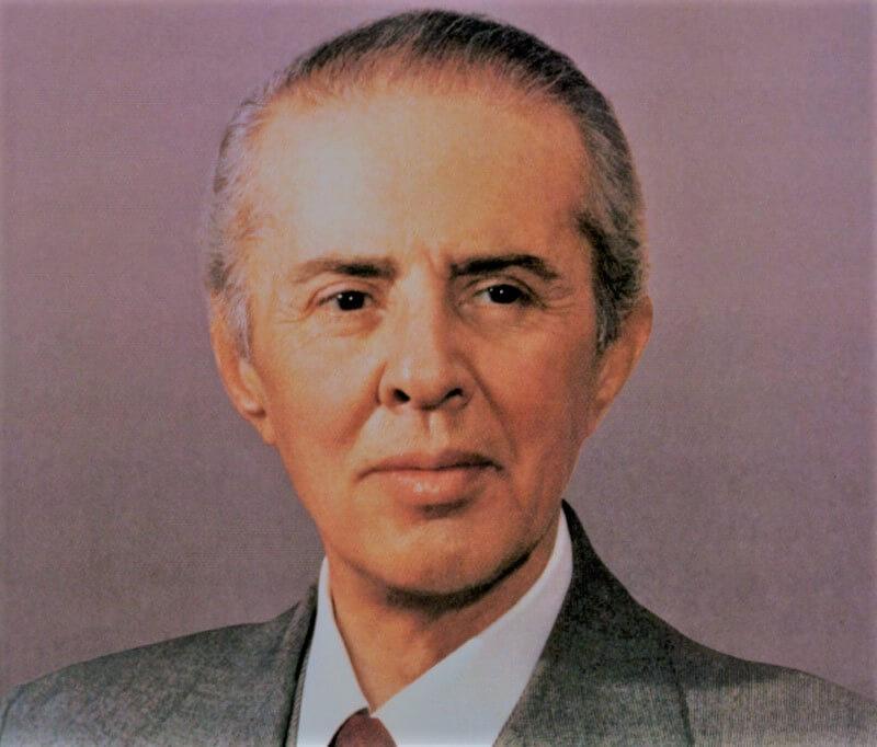 Der irre Herr Enver aus Albanien