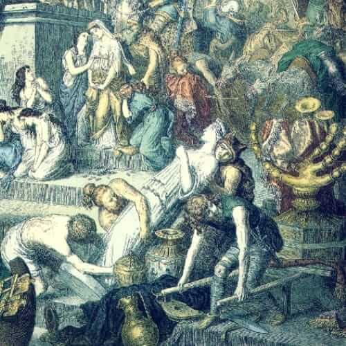 Was der Untergang des Römischen Reiches mit dem Klimawandel zu tun hat