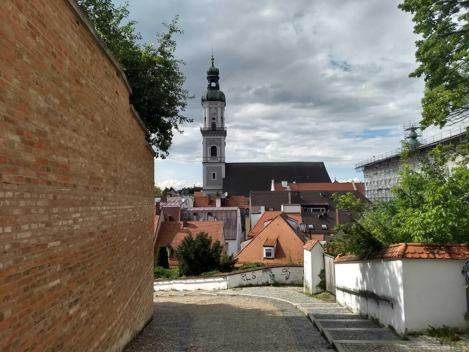 Fotos zur Podcast-Stadtführung durch Freising