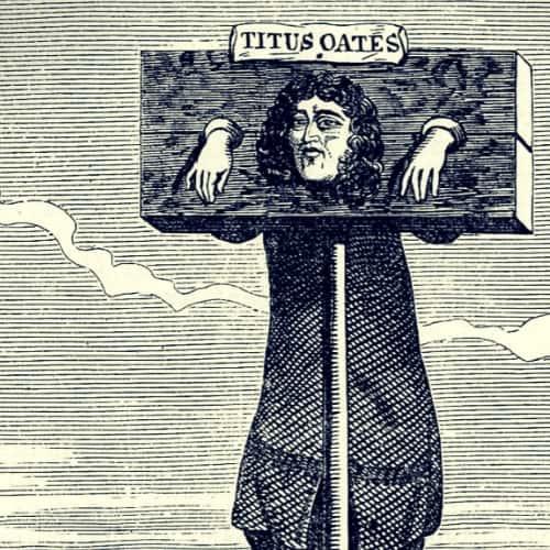 Titus Oates und seine Papistenverschwörung