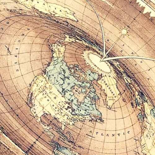 Die Flat Earth Theorie