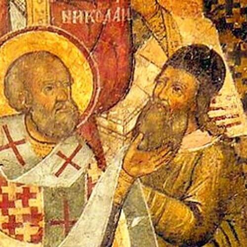 Die eigenartige Christianisierung der Germanen. Der Arianismus und das Konzil von Nicäa