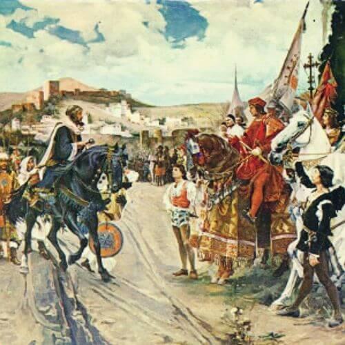 Das Jahr 1492 in Spanien
