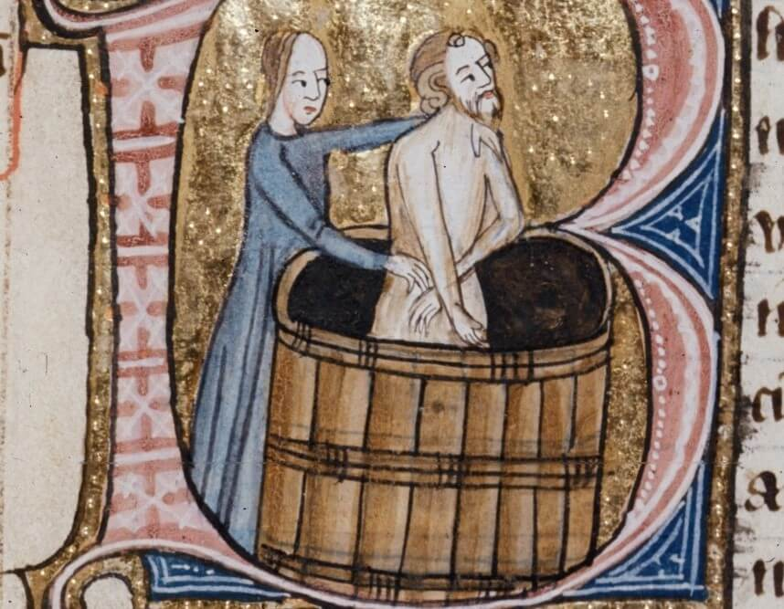 Haben sich Menschen im Mittelalter gewaschen?