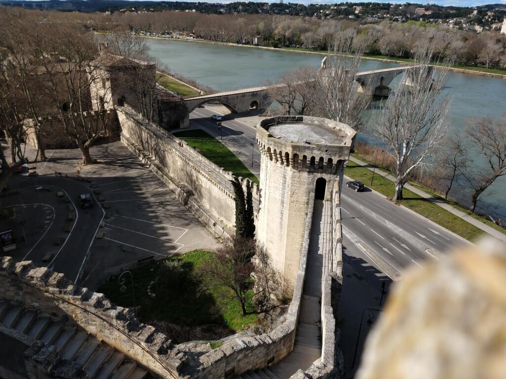 Fotos zum Stadtspaziergang durch Avignon