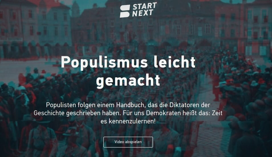 """""""Populismus leicht gemacht"""" macht die Runde"""