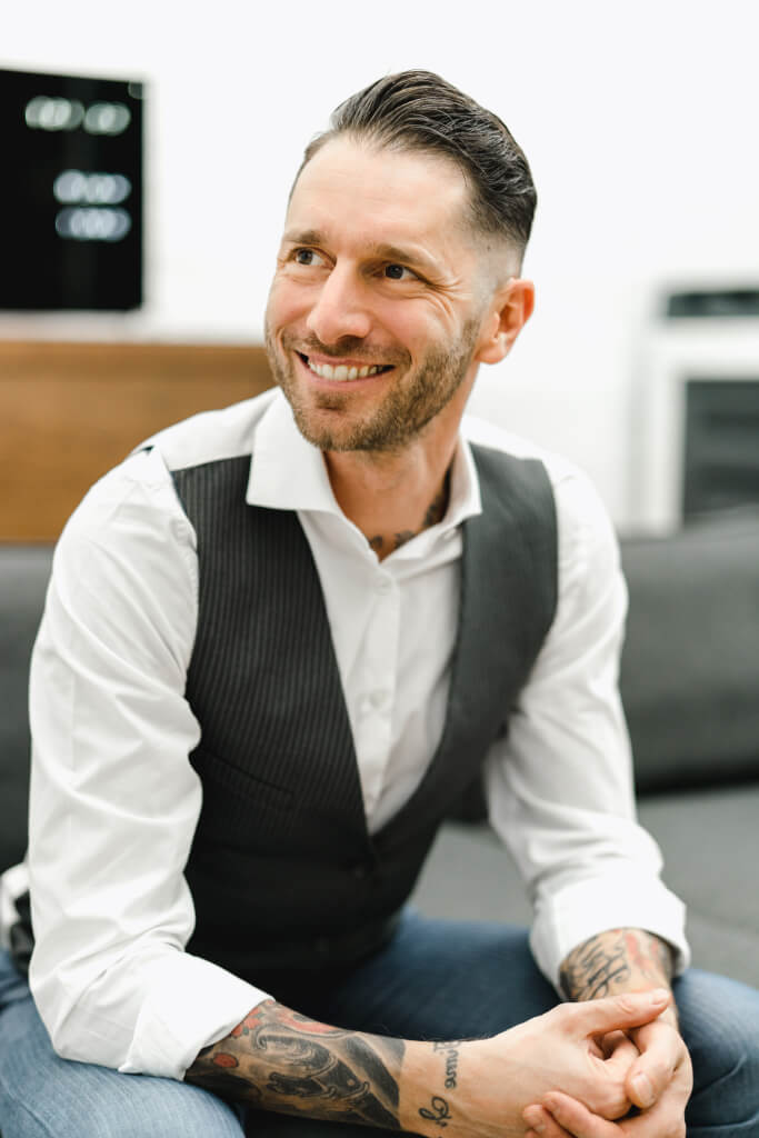 Cristoph Fabikan, lächelnd, offen für neues