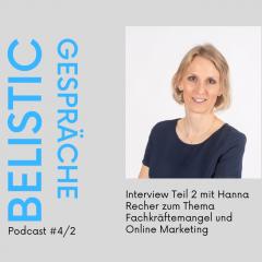 Interview Teil 2 mit Hanna Recher von RECHER Sanitär Heizung GmbH