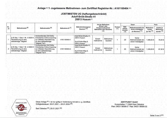 Zertifikat S 2 v 2 2