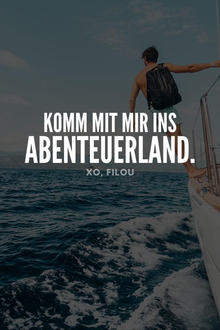 """""""Komm mit mir ins Abenteuerland."""""""