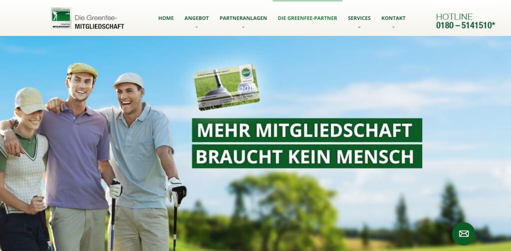Die Greenfee-Mitgliedschaft