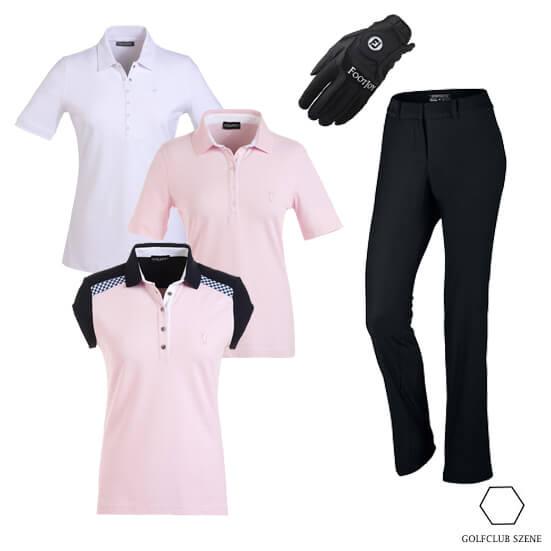Drei Shirts ein Outfit