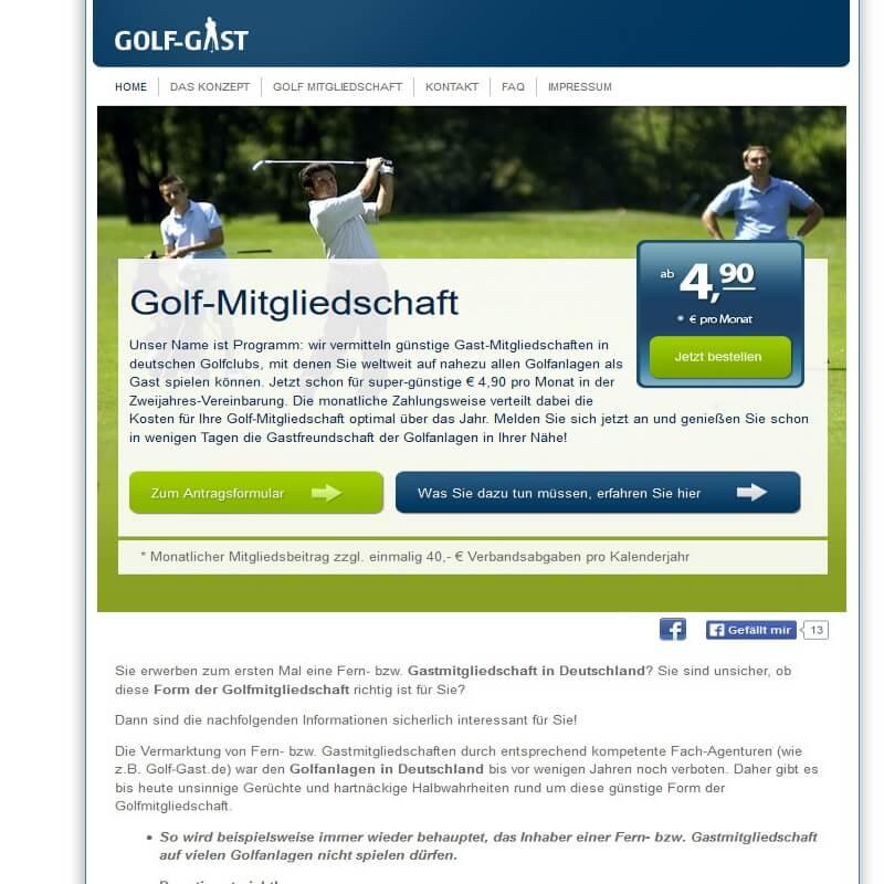 Golf-Gast