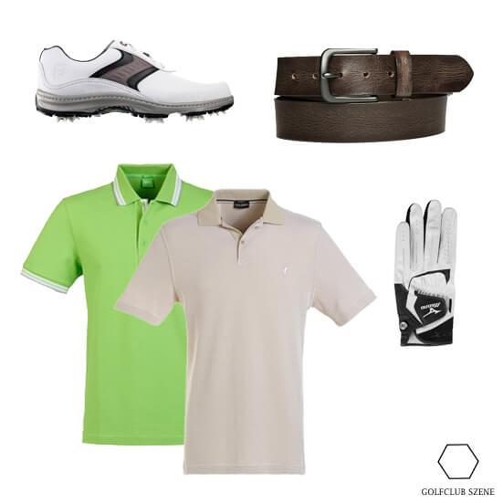 Gruen oder Beige Polos im Outfit 9