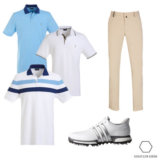 Herrenpolo Kombi Outfit 8