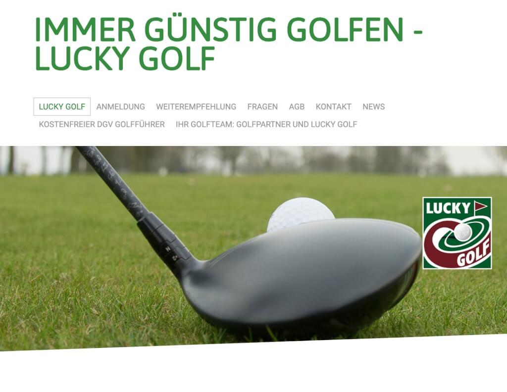 Lucky Golf Fernmitgliedschaft