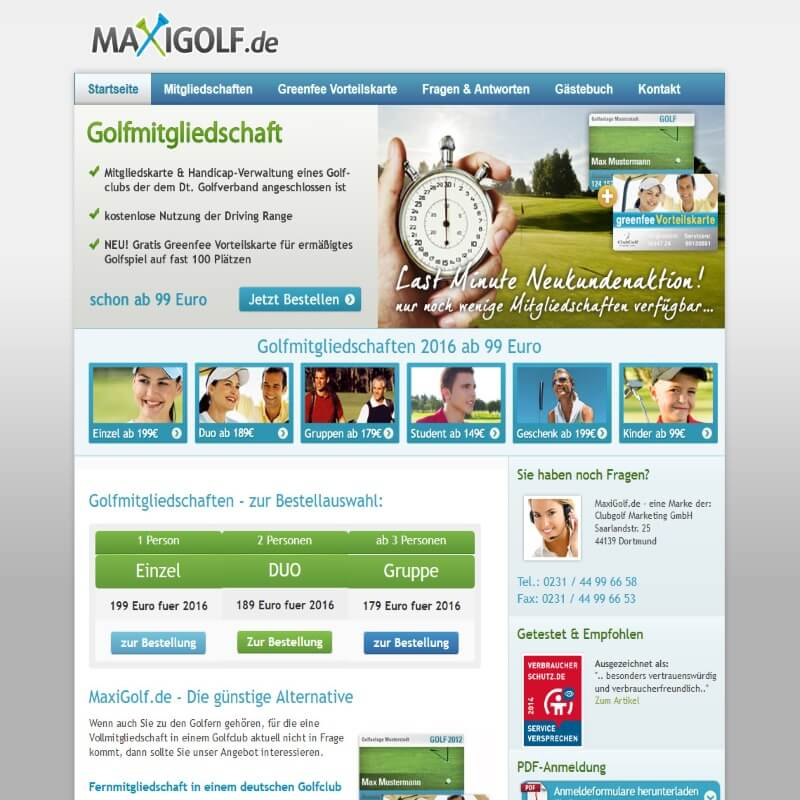 Maxigolf