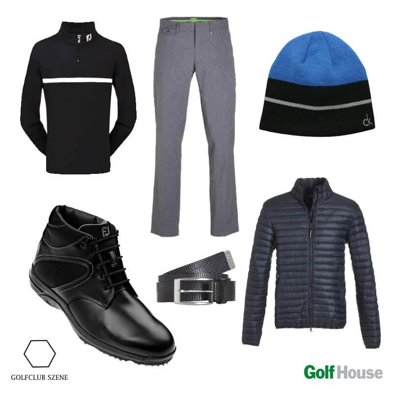 Winteroutfit Golfstunde